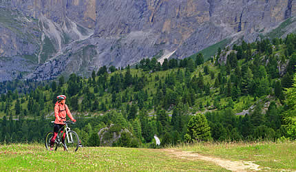 Mountain bike South Tyrol