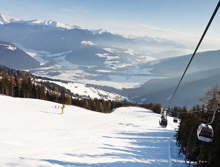 Ski slopes Kronplatz